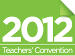 2012 Teachers' Convention logo